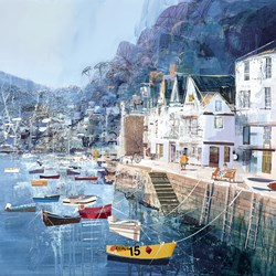 Shore Thing by Tom Butler - Limited Edition on Paper sized 18x18 inches. Available from Whitewall Galleries